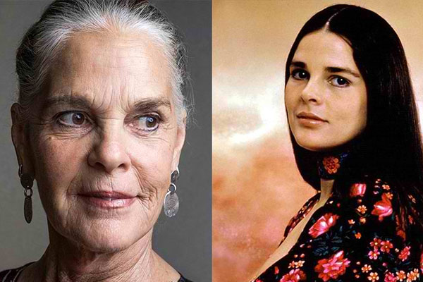 ALI MACGRAW, 79 YEARS OLD