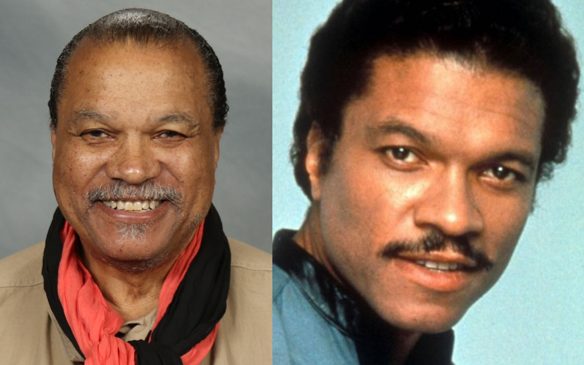 BILLY DEE WILLIAMS, 82 YEARS OLD