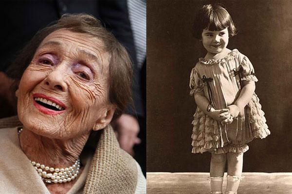 DIANA SERRA CARY, 99 YEARS OLD
