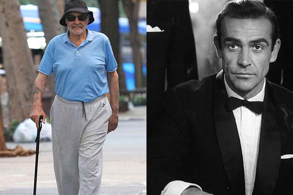 SEAN CONNERY, 88 YEARS OLD